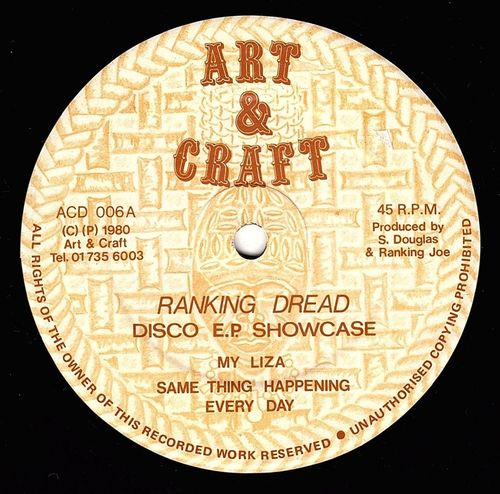 RANKING DREAD-disco EP showcase