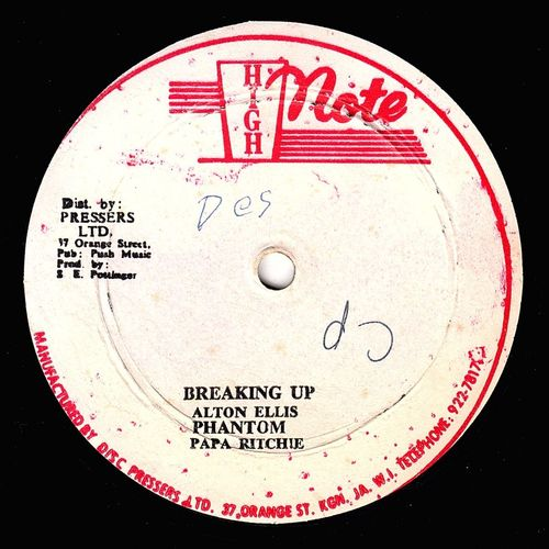 ALTON ELLIS & PAPA RICHIE-breaking up