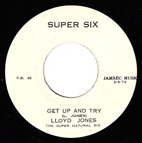 LLOYD JONES-get up & try