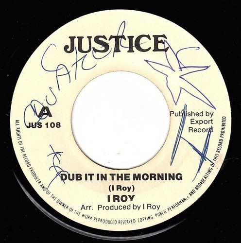 I ROY-dub it in the morning