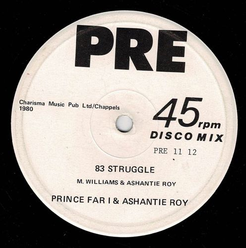 PRINCE FAR I & ASHANTIE ROY-83 struggle