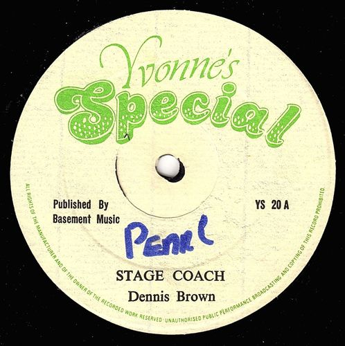DENNIS BROWN-stage coach