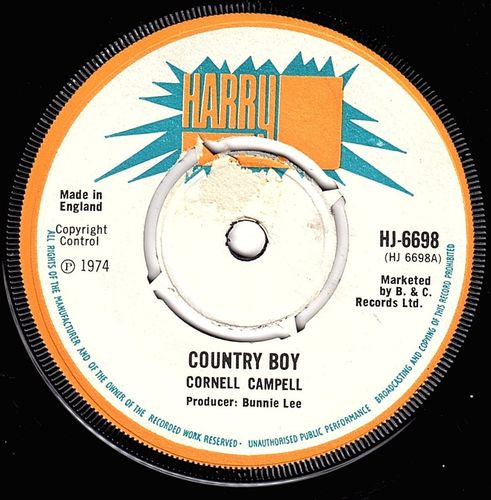 CORNELL CAMPBELL-country boy