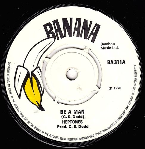 HEPTONES-be a man