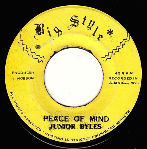 JUNIOR BYLES-peace of mind