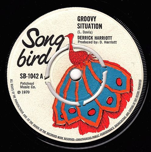 DERRICK HARRIOTT-groovy situation