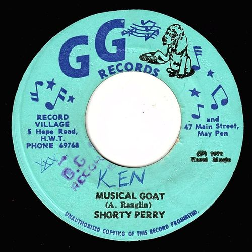 SHORTY PERRY-musical goat
