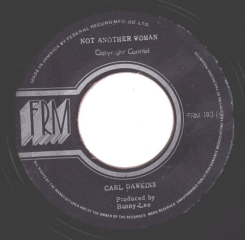 CARL DAWKINS-not another woman