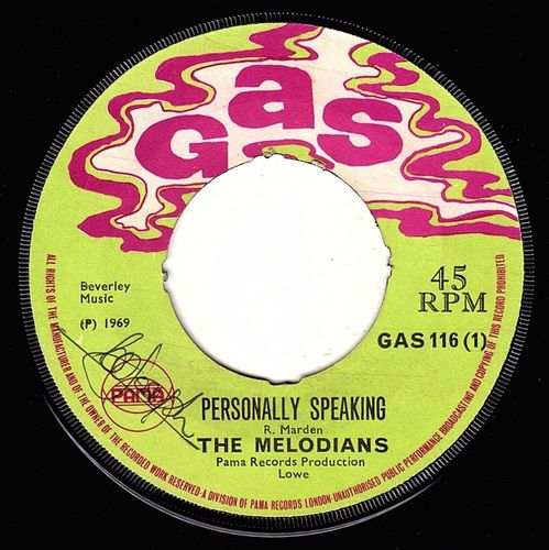 MELODIANS-personally speaking