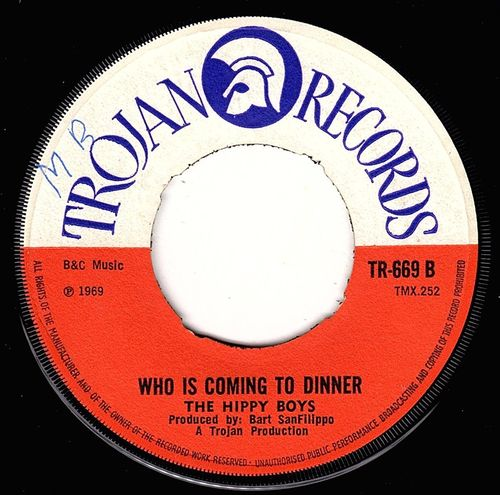 HIPPY BOYS-who is coming to dinner