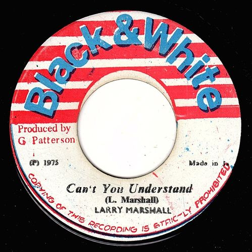 LARRY MARSHALL-can't you understand