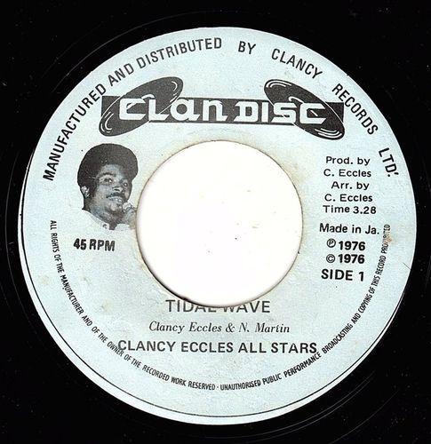 CLANCY ECCLES ALL STARS-tidal wave